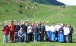 El 2009 al Ripollès, en 100 imatges La vedella de la pastura a la taula (Pardines, 10 de juny) Foto: CRD
