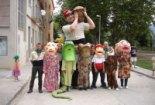 El 2009 al Ripollès, en 100 imatges Bateig del gegant Plafalgars per Festa Major (Vallfogona de Ripollès, 1 de setembre) Foto: Ajuntament de Vallfogona