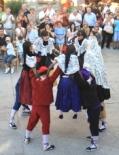El 2009 al Ripollès, en 100 imatges Dansa Gombrenesa en un any rodó amb el primer sant i la primera estrella Michelin de la comarca (Gombrèn, 7 de setembre) Foto: Arnau Urgell