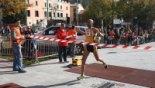 El 2009 al Ripollès, en 100 imatges Otman Btaimi guanya la mitja marató (Ripoll, 15 de novembre)
