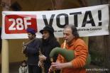 L'any 2010 en 100 imatges La consulta sobre la independència de Sant Joan. Foto: Arnau Urgell