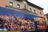 L'any 2010 en 100 imatges Les 6 Copes del Barça a Ripoll. Foto: Xevi Mas