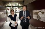 L'any 2010 en 100 imatges Presentació del restaurat Palau de l'Abadia de Sant Joan. Foto: Adrià Costa