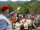 L'any 2010 en 100 imatges Ramon Tubert anuncia que el 2011 abandona la política municipal. Foto: Lurdes López