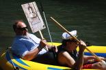 L'any 2010 en 100 imatges Tràgica mort de Josep Labró al riu Ter. Foto: Arnau Urgell