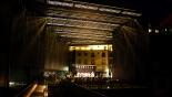 L'any 2010 en 100 imatges La Lira de nit en un concert del Festival Internacional de Música de Ripoll. Foto: Arnau Urgell