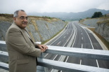 L'any 2010 en 100 imatges Joaquim Nadal en la inauguració dels quatre carrils de la C-17 fins a Sora. Foto: Adrià Costa