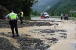 L'any 2010 en 100 imatges Esllavissada a Setcases després de ploure 132 litres per metre quadrat. Foto: Jordi Valverde