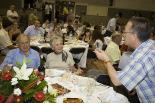 L'any 2010 en 100 imatges 30è sopar amb Jordi Pujol al Ripollès. Foto: Adrià Costa