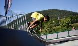 L'any 2010 en 100 imatges Campionat d'skate a la Festa Major de Campdevànol. Foto: Arnau Urgell