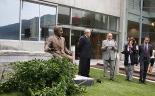 L'any 2010 en 100 imatges El president José Montilla inaugura el monument d'Eduard Soler, deu anys després de la seva mort. Foto: Arnau Urgell