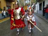 L'any 2010 en 100 imatges Els armats de Campdevànol a la Caminada a la Via Romana de Sant Pau de Segúries. Foto: Xevi Mas