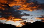 L'any 2010 en 100 imatges Espectacular posta de sol el dia de Tots Sants a Ripoll. Foto: Arnau Urgell