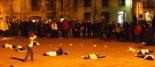L'any 2010 en 100 imatges Concentració a Ripoll contra la violència de gènere. Foto: David Fernàndez