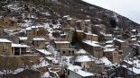 L'any 2010 en 100 imatges Toses mostrant una imatge de pessebre després de les primeres nevades. Foto: Jordi Campos