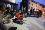 Resum 2011 La indignació també va arribar a Ripoll. Foto: Arnau Urgell