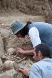 Resum 2011 Descobriment de tombes medievals al Mas el Sunyer de Beget. Foto: Rastres (Gerard Garcia i Raül Duque)