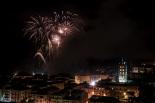 Sant Eudald: castell de focs
