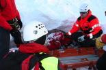 Simulacre de rescat per una allau