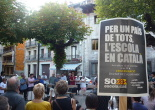 Concentracions pel català a l'escola