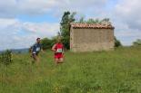 I Cursa de les Quatre Ermites de Ripoll Toni López i Miquel Tarré, al seu pas per Sant Roc. Foto: B&B Sports