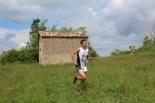 I Cursa de les Quatre Ermites de Ripoll Aleix Roqué, al seu pas per Sant Roc. Foto: B&B Sports