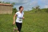 I Cursa de les Quatre Ermites de Ripoll Judith Verdaguer, al seu pas per Sant Roc. Foto: B&B Sports