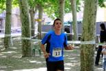 I Cursa de les Quatre Ermites de Ripoll Gerard Herrera arribant a la meta del passeig Ragull. Foto: Arnau Urgell