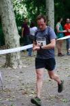 I Cursa de les Quatre Ermites de Ripoll Un corredor arribant a la meta del passeig Ragull. Foto: Arnau Urgell