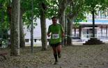 I Cursa de les Quatre Ermites de Ripoll Joan Monge arribant a la meta del passeig Ragull. Foto: Arnau Urgell