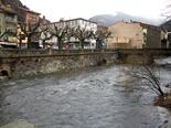 Temporal de pluja 4-6 de març El Freser a Ribes. Foto: Laia Deler