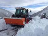Temporal de pluja 4-6 de març A Vallter s'han acumulat més de 70 cm a les cotes baixes. Foto: Aleix Busquets