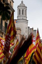 Primer de maig a Girona