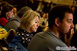 Ple de constitució de l'Ajuntament de Girona Ester Costa (CUP) i Lluc Salellas (CUP).