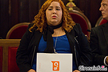 Ple de constitució de l'Ajuntament de Girona  Míriam Pujola Romero (C's).