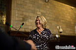 Ple de constitució de l'Ajuntament de Girona Ester Costa (CUP)
