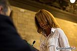 Ple de constitució de l'Ajuntament de Girona Marta Madrenas i Mir (CIU).