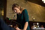 Ple de constitució de l'Ajuntament de Girona Elisabeth Riera Alemany (PSC).