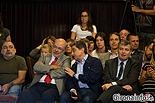 Ple de constitució de l'Ajuntament de Girona Enric Millo (PPC) assegut com a públic.