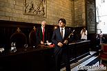 Ple de constitució de l'Ajuntament de Girona Carles Puigdemont.