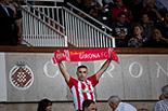 Futbol: Girona 1 - Saragossa 4 Aficionats del Girona abans de l'inici del partit