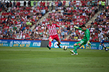 Futbol: Girona 1 - Saragossa 4 Partit entre el Girona i el Saragossa.