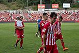 Futbol: Girona 1 - Saragossa 4 Jugadors del Girona després del partit.