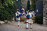 Recreació de la Guerra de Successió a Girona Recreació històrica de la guerra de successió.