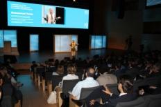 Primer Fòrum Impulsa El Nobel de la Pau Mohammad Yunus ha ressaltat el talent creatiu dels joves.