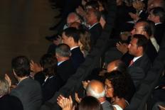 Primer Fòrum Impulsa Els prínceps d'Astúries han seguit des de la primera fila totes les conferències.