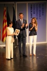 Primer Fòrum Impulsa L'Alba Ventura, pianista, ha estat premiada en la modalitat de Cultura i Esports