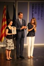 Primer Fòrum Impulsa Ruth Ruiz ha estat la guanyadora de l'Impulsa de l'Àmbit Social.