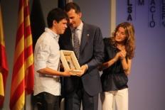 Primer Fòrum Impulsa En Pau Garcia-Milà ha estat el premiat més jove, en la modalitat d'Empresa.