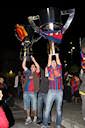 Celebració de la lliga 2009 del FC Barcelona
